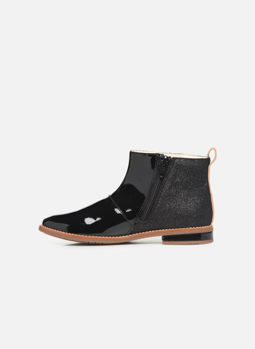 Ankle boots Clarks Drew Fun K Black front view
