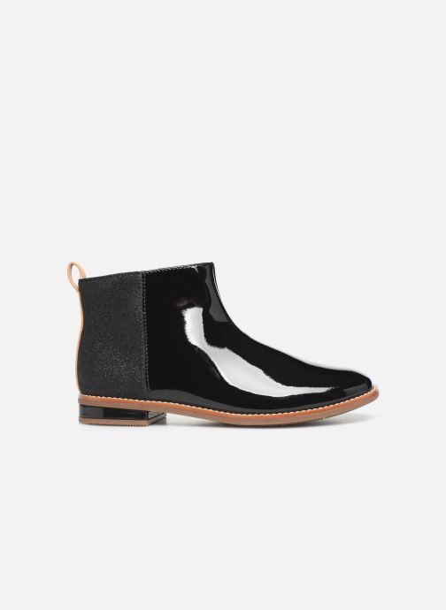 Ankle boots Clarks Drew Fun K Black back view