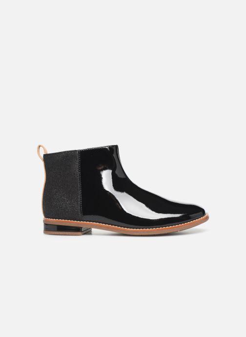 Boots en enkellaarsjes Clarks Drew Fun K Zwart achterkant