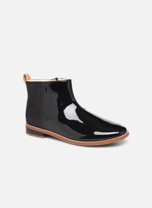 Bottines et boots Clarks Drew Fun K Noir vue détail/paire