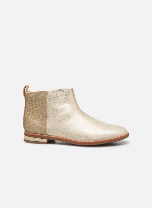 Boots en enkellaarsjes Clarks Drew Fun K Goud en brons achterkant