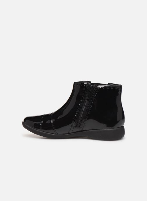 Boots en enkellaarsjes Clarks Etch Form K Zwart voorkant