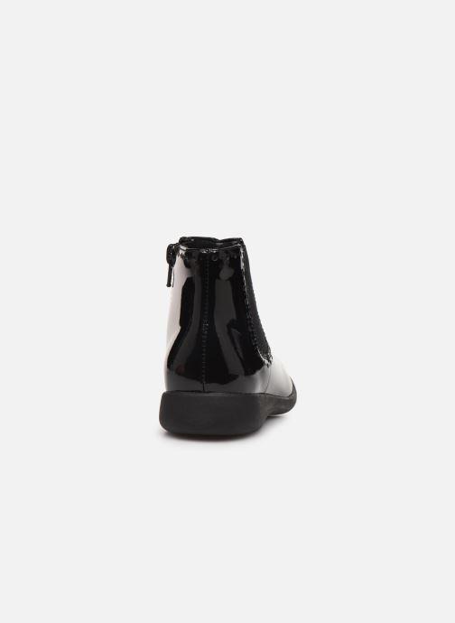 Boots en enkellaarsjes Clarks Etch Form K Zwart rechts