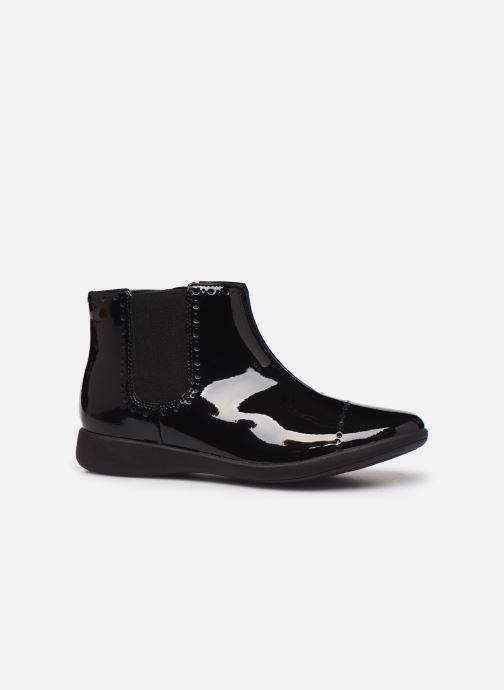 Boots en enkellaarsjes Clarks Etch Form K Zwart achterkant