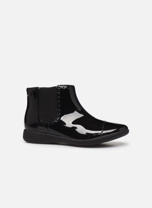 Bottines et boots Clarks Etch Form K Noir vue derrière