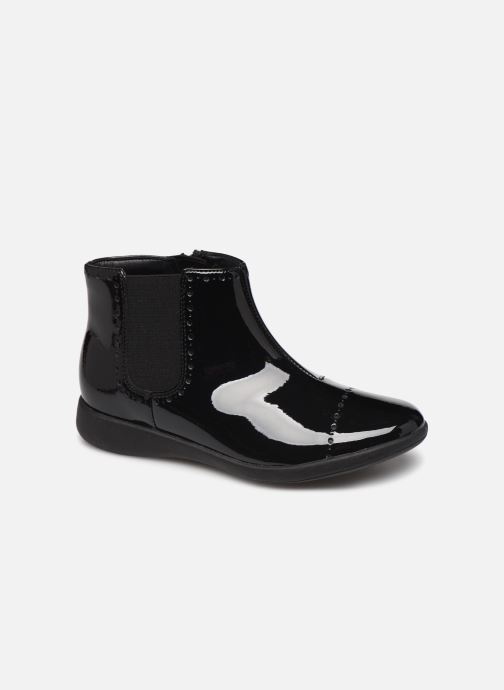Bottines et boots Clarks Etch Form K Noir vue détail/paire