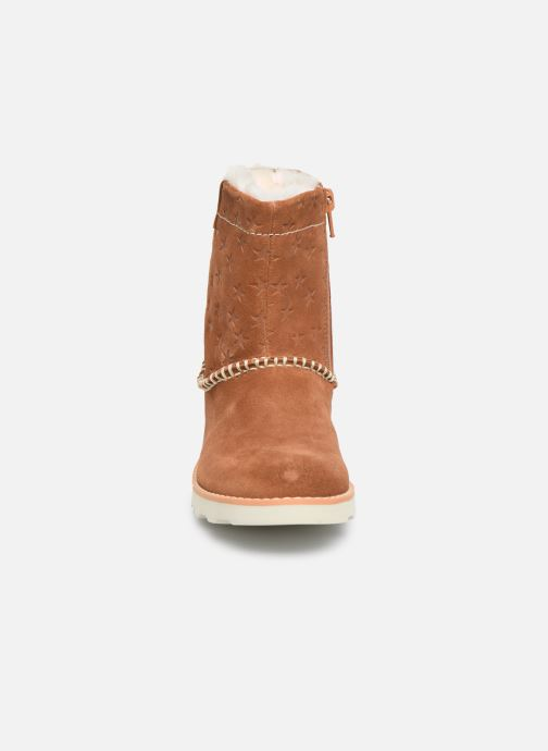 Boots en enkellaarsjes Clarks Crown Piper K Bruin model