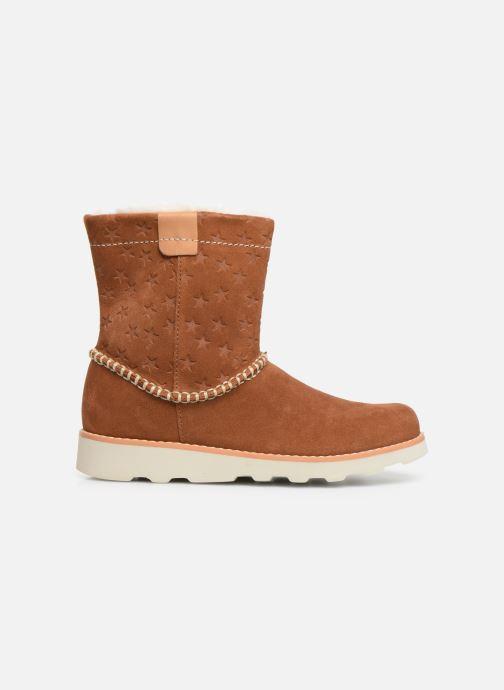 Boots en enkellaarsjes Clarks Crown Piper K Bruin achterkant