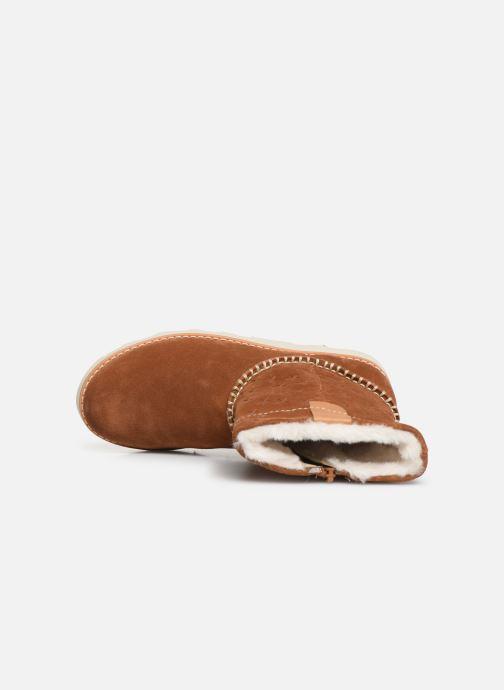 Boots en enkellaarsjes Clarks Crown Piper K Bruin links