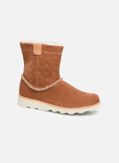 Boots en enkellaarsjes Clarks Crown Piper K Bruin detail