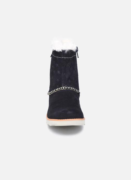 Boots en enkellaarsjes Clarks Crown Piper K Blauw model