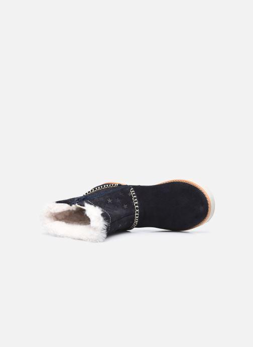 Boots en enkellaarsjes Clarks Crown Piper K Blauw links