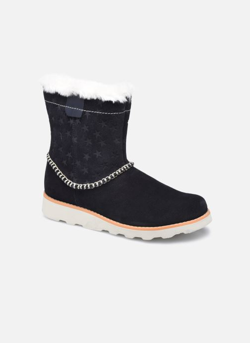 Boots en enkellaarsjes Clarks Crown Piper K Blauw detail