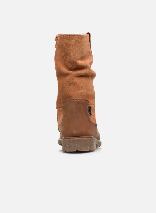 Støvler & gummistøvler Clarks Astrol Rise K WP Brun Se fra højre