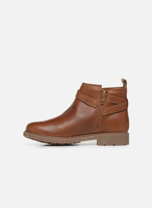 Bottines et boots Clarks Astrol Soar K/Y Marron vue face