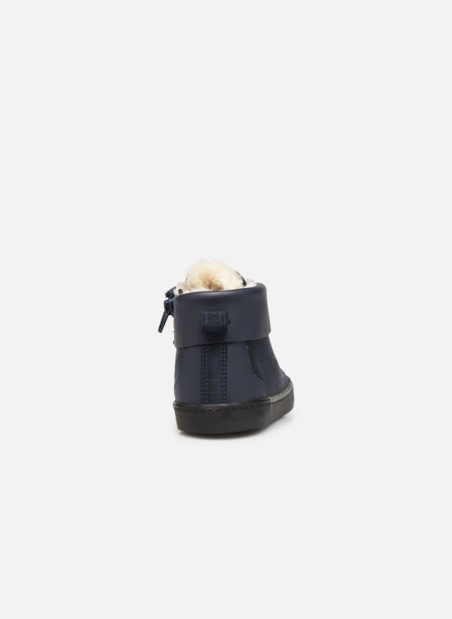 Trainers Clarks City Peak K warm Blue view from the right