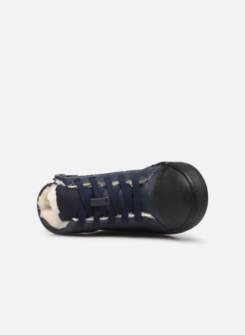 Trainers Clarks City Peak K warm Blue view from the left
