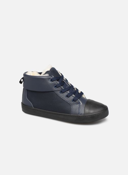 Trainers Clarks City Peak K warm Blue detailed view/ Pair view