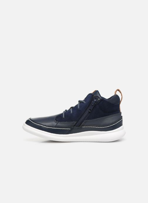 Sneakers Clarks Cloud Air K Azzurro immagine frontale