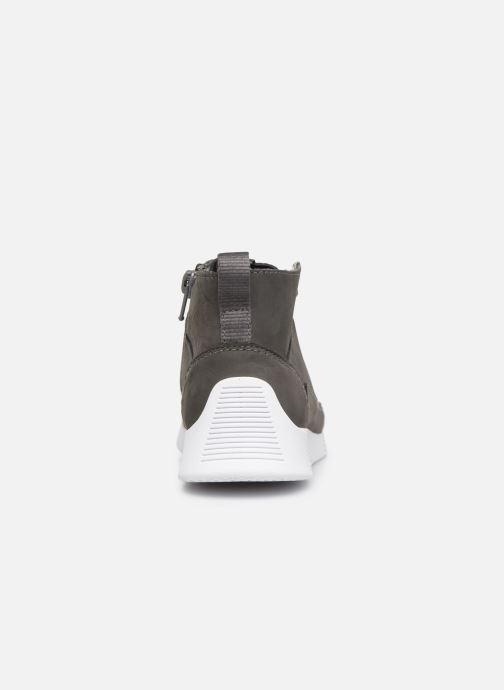 Sneaker Clarks Tri Voyage K grau ansicht von rechts
