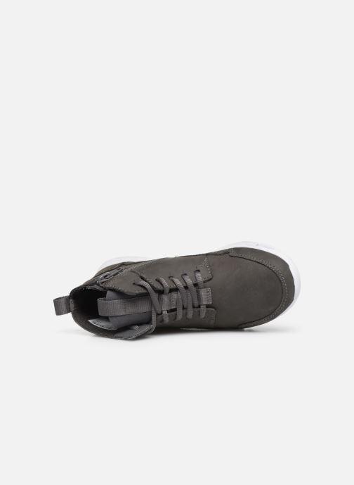 Sneaker Clarks Tri Voyage K grau ansicht von links