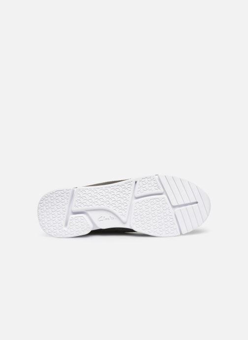 Sneaker Clarks Tri Voyage K grau ansicht von oben