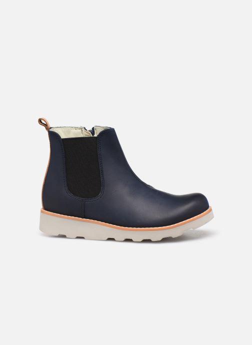 Bottines et boots Clarks Crown Halo K Bleu vue derrière