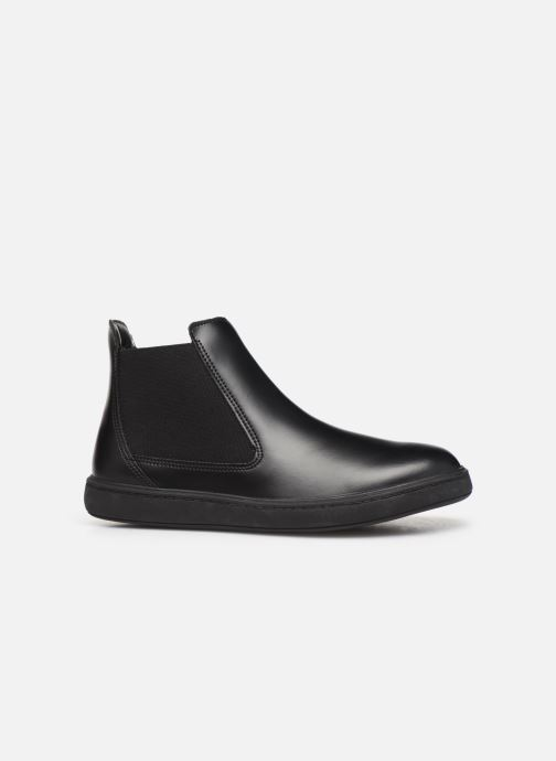 Bottines et boots Clarks Street Edge K/Y Noir vue derrière
