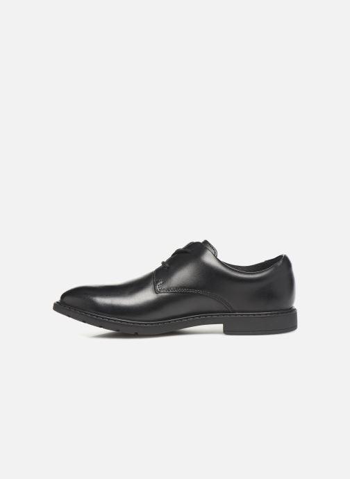 Chaussures à lacets Clarks Scala Loop K/Y Noir vue face