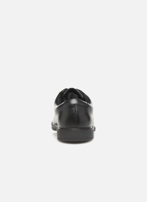 Chaussures à lacets Clarks Scala Loop K/Y Noir vue droite