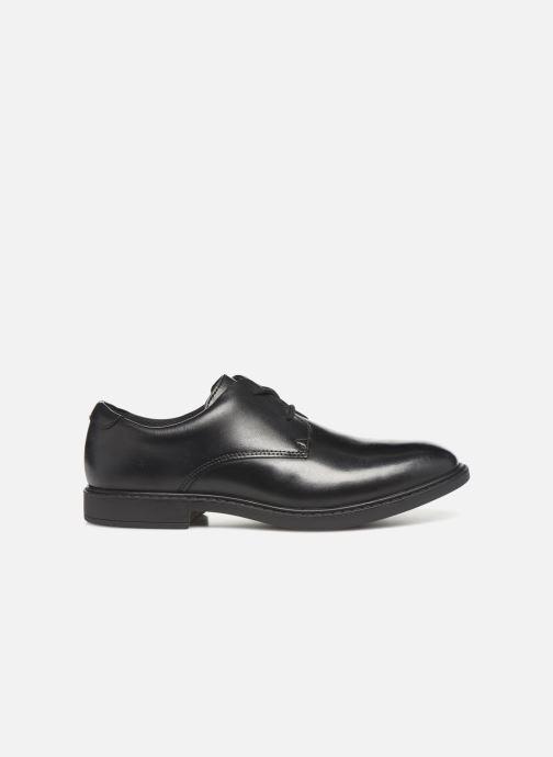 Chaussures à lacets Clarks Scala Loop K/Y Noir vue derrière