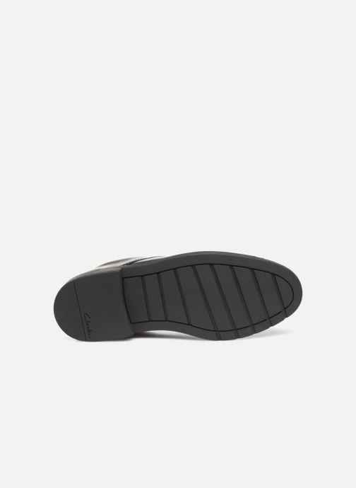 Chaussures à lacets Clarks Scala Loop K/Y Noir vue haut