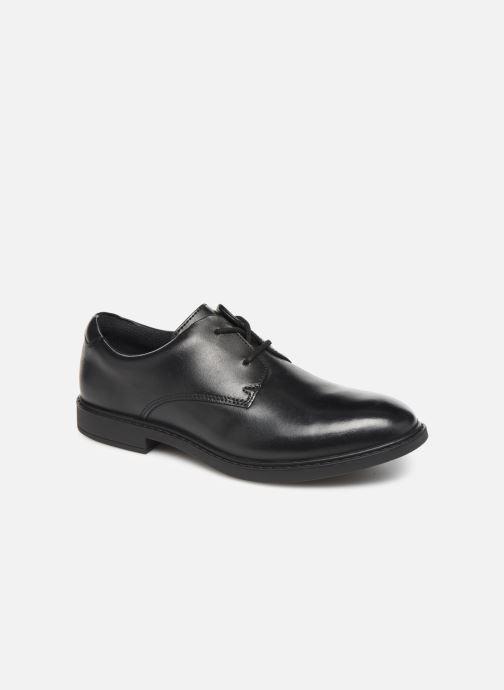 Chaussures à lacets Clarks Scala Loop K/Y Noir vue détail/paire