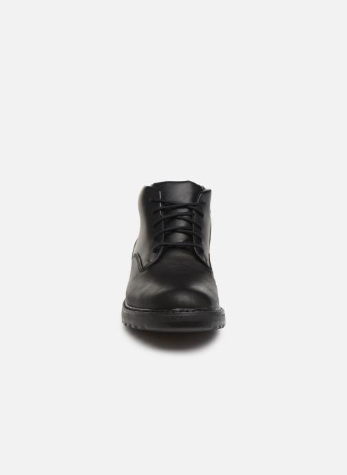 Ankelstøvler Clarks Asher Walk Y Sort se skoene på