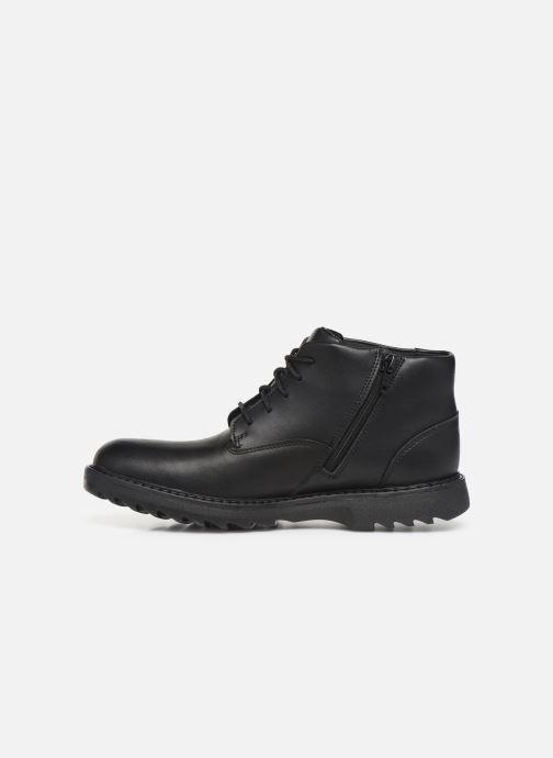 Boots en enkellaarsjes Clarks Asher Walk Y Zwart voorkant