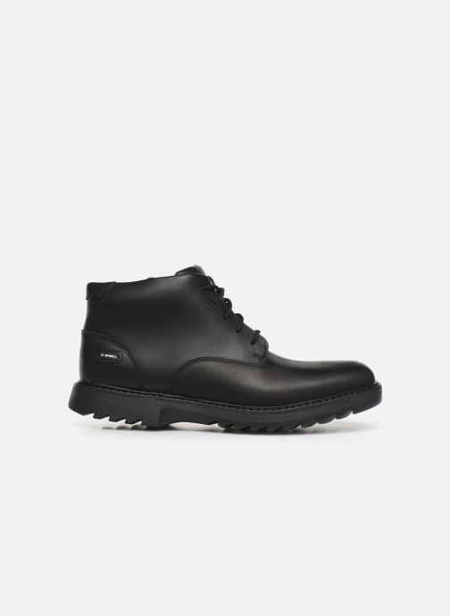 Boots en enkellaarsjes Clarks Asher Walk Y Zwart achterkant