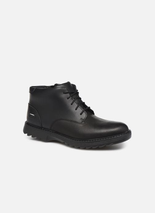 Ankelstøvler Clarks Asher Walk Y Sort detaljeret billede af skoene