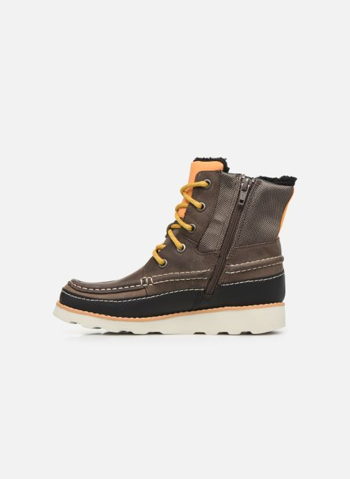 Bottes Clarks Crown Spirit K WP Marron vue face