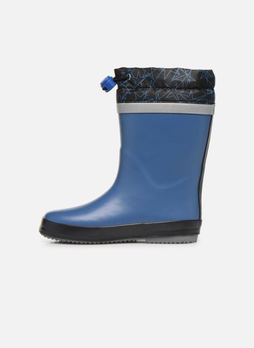 Støvler & gummistøvler Clarks Tarri Tie K Blå se forfra