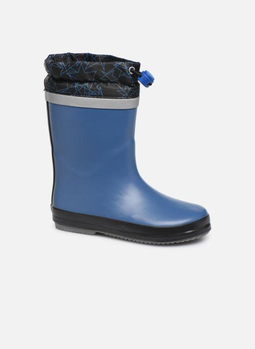 Støvler & gummistøvler Clarks Tarri Tie K Blå detaljeret billede af skoene
