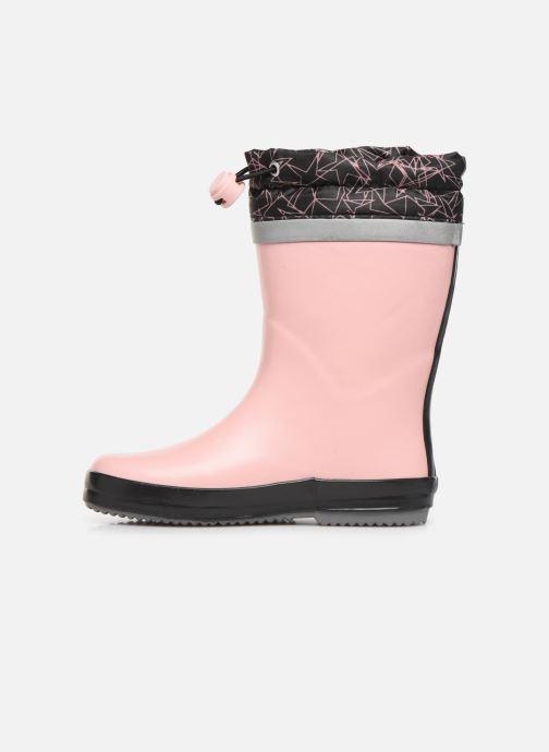 Stiefel Clarks Tarri Tie K rosa ansicht von vorne