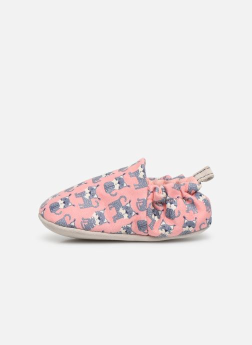 Slippers Poco Nido Lynx Pink Pink front view