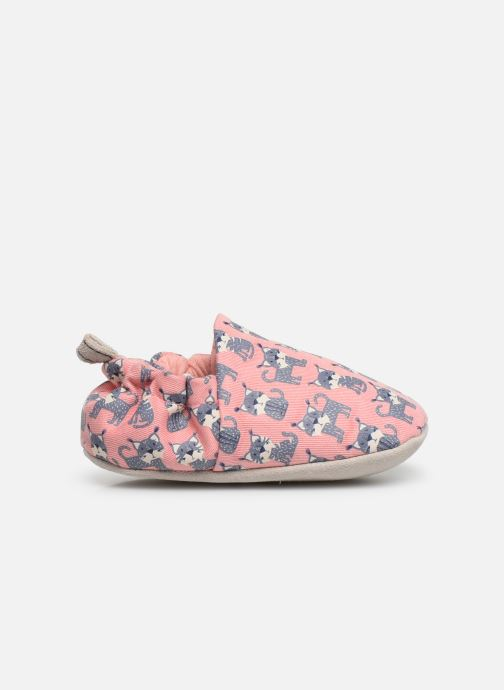 Slippers Poco Nido Lynx Pink Pink back view