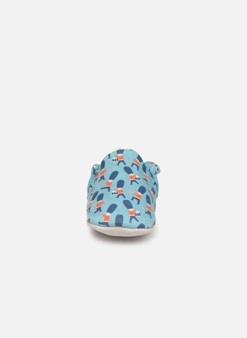 Slippers Poco Nido Queens Guard Blue model view