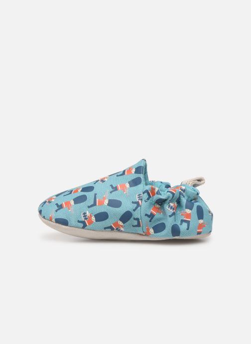 Slippers Poco Nido Queens Guard Blue front view