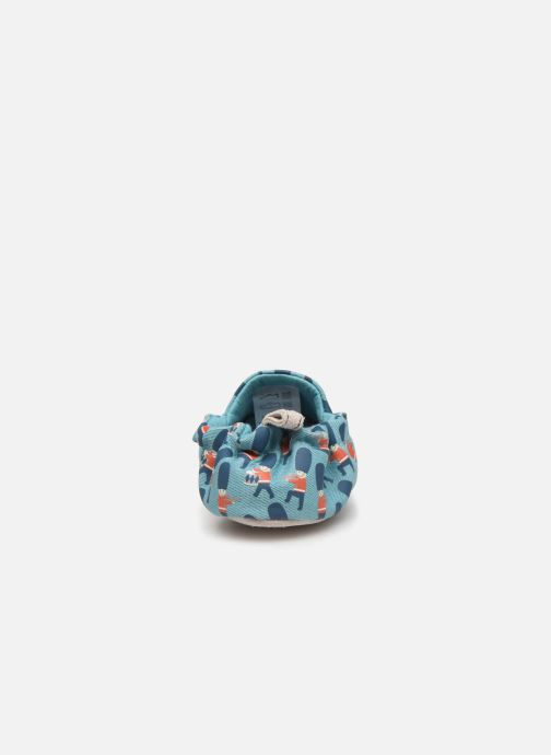 Slippers Poco Nido Queens Guard Blue view from the right
