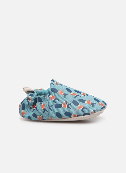 Slippers Poco Nido Queens Guard Blue back view
