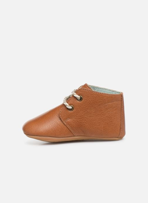 Chaussons Poco Nido Lace Up Leather Boot Mighty Shoe Marron vue face