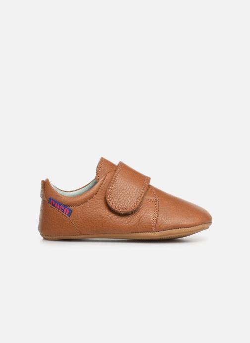 Chaussons Poco Nido Velcro Flap Mighty Shoe Marron vue derrière