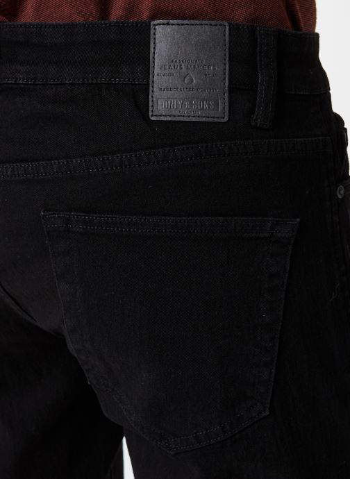 Vêtements Only & Sons Onsloom Slim Noir vue face